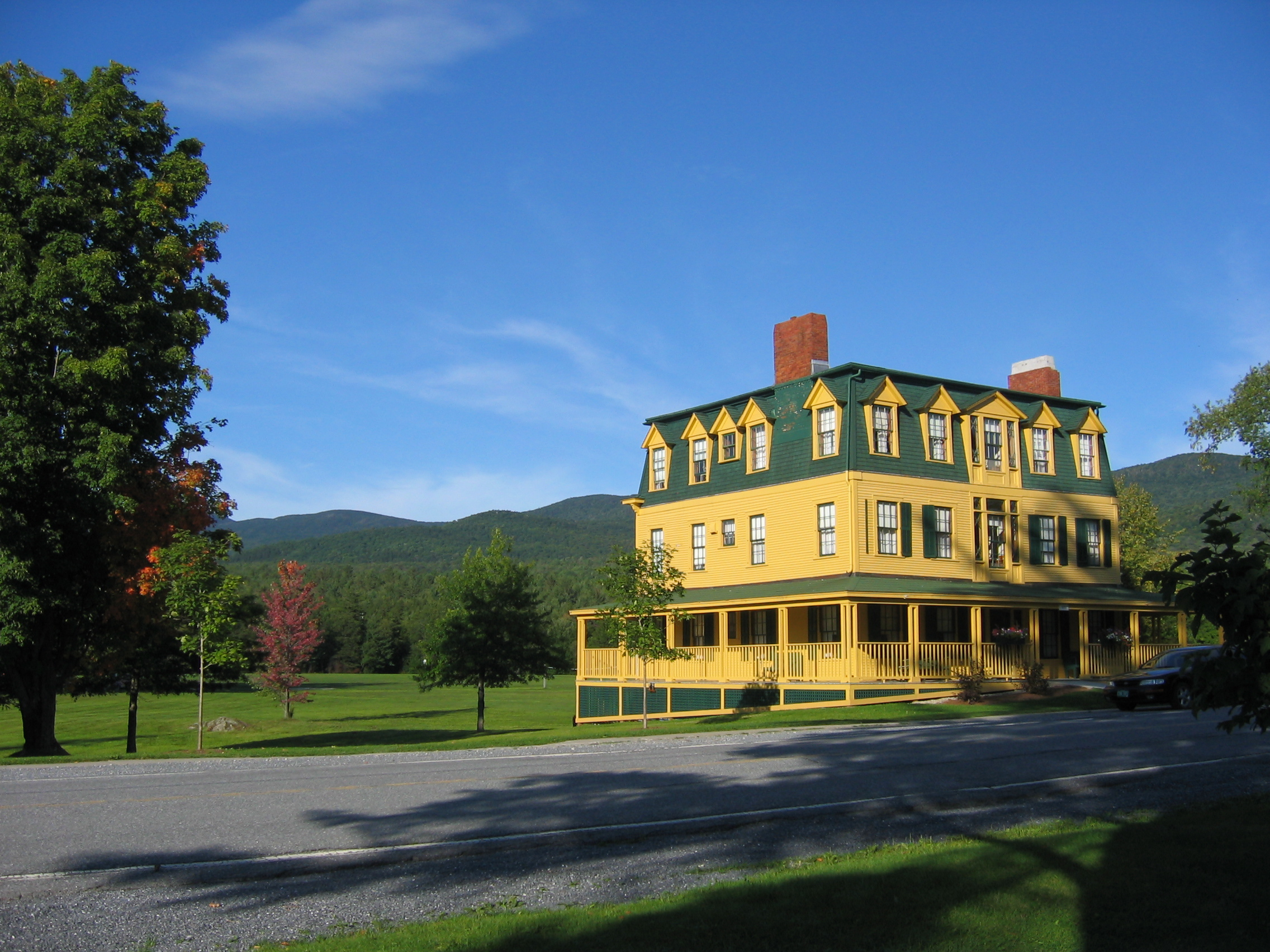 at the Bread Loaf Writers' Conference in Vermont, and it's ...
